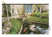 Museum Koi - Courtyard Of The Pacific Asia Museum In Pasadena. Carry-all Pouch