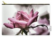 Museum Park Pink Rose Carry-all Pouch