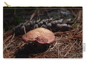Mushroom And Pine Cone Carry-all Pouch