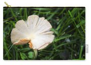 Mushroom Growing Wild On Lawn Carry-all Pouch