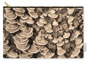 Mushrooms On A Tree Carry-all Pouch