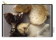 Mushrooms With Watercolor Effect 5 Carry-all Pouch