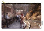 Music - Accordion - The Guy And The Squeeze Box Carry-all Pouch by Mike Savad