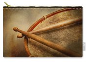 Music - Drum - Cadence  Carry-all Pouch by Mike Savad