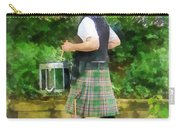 Music - Drummer In Pipe Band Carry-all Pouch