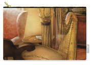 Music - Harp - The Harp Carry-all Pouch by Mike Savad