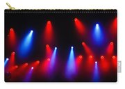 Music In Red And Blue - The Wonderful Sound Of Nightlife Carry-all Pouch