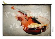 Music Lover Card Carry-all Pouch