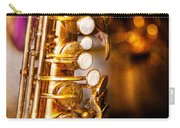 Music - Sax - Sweet Jazz  Carry-all Pouch by Mike Savad