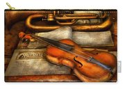 Music - Violin - Played It's Last Song  Carry-all Pouch by Mike Savad
