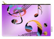 Musical Illusion Carry-all Pouch
