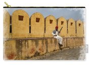 Musician - Amber Palace - India Rajasthan Jaipur Carry-all Pouch