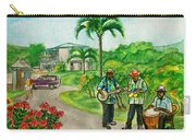 Musicians On Island Of Grenada Carry-all Pouch