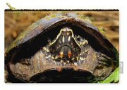 Musk Turtle Macro Carry-all Pouch