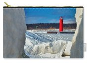 Muskegon Light Thru The Ice Carry-all Pouch