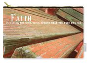 Muskoka Chair Quote Carry-all Pouch