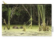 Muskrat Family Carry-all Pouch