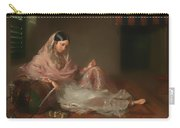 Muslim Lady Reclining Carry-all Pouch