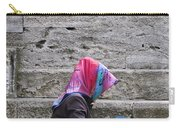 Muslim Woman At Mosque Carry-all Pouch