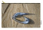 Mussel Shell On The Beach Carry-all Pouch