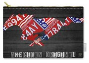 Mustang An American Original License Plate Art Carry-all Pouch