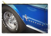 Mustang Blue Carry-all Pouch