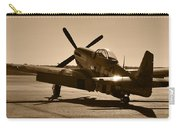Mustang In The Sun Carry-all Pouch