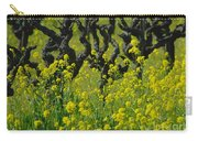Mustard And Old Vines Carry-all Pouch