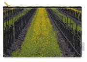 Mustard Grass In Vineyards Carry-all Pouch