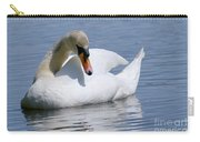 Mute Swan 1 Carry-all Pouch by Sharon Talson