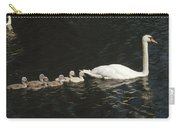Mute Swan Cygnus Olor Parent Carry-all Pouch