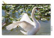 Mute Swan Wings Carry-all Pouch