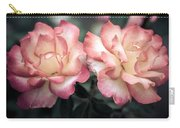 Muted Pink Roses Carry-all Pouch
