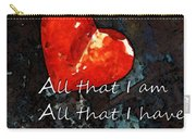 My All - Love Romantic Art Valentine's Day Carry-all Pouch