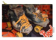 My Battle Scarred Roller Derby Skates  Carry-all Pouch