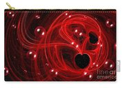My Cosmic Valentine Carry-all Pouch by Peggy Hughes