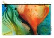 My Cup Runneth Over - Abstract Art By Sharon Cummings Carry-all Pouch