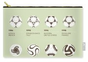 My Evolution Soccer Ball Minimal Poster Carry-all Pouch by Chungkong Art