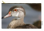 My Feather Friend - Wood Duck Carry-all Pouch