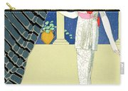 My Guests Have Not Arrived Carry-all Pouch by Georges Barbier