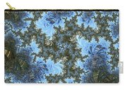 My Maui Fractal Art Abstract Palms And Blue Sky And Waters Carry-all Pouch