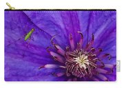 My Old Clematis Home Carry-all Pouch