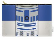 My Star Warhols R2d2 Minimal Can Poster Carry-all Pouch