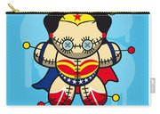 My Supercharged Voodoo Dolls Wonder Woman Carry-all Pouch