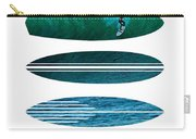 My Surfspots Poster-3-punta De Lobos-chile Carry-all Pouch by Chungkong Art