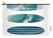 My Surfspots Poster-5-devils-point-tasmania Carry-all Pouch by Chungkong Art