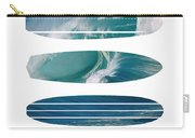 My Surfspots Poster-5-devils-point-tasmania Carry-all Pouch