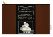 My The Bible Talks About Flowers And Plants Book Carry-all Pouch