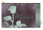 My Thoughts Are With You Card  Carry-all Pouch