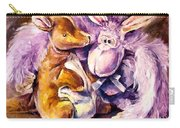 My Toys - Palette Knife Oil Painting On Canvas By Leonid Afremov Carry-all Pouch
